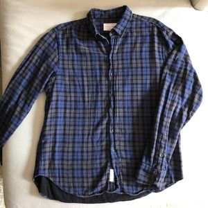 Rag & Bone Men's Tailored Workwear Flannel XXL